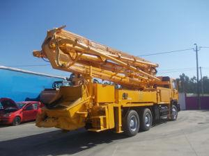 LKW eingehangene konkrete Hochkonjunktur-Pumpe