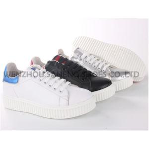 Mieux vendre des chaussures femmes PG/chaussures en cuir chaussures occasionnel (SNC-65001)