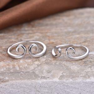 Princess 925 Sterling Silver Jewellry par Juego de anillo