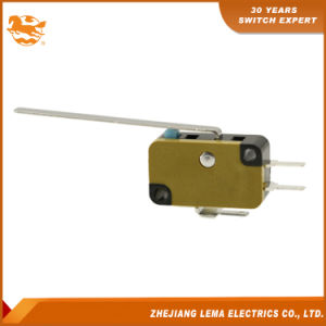 Lema Kw7N-9r levier long Micro-interrupteur électrique à usage général de l'interrupteur à action rapide