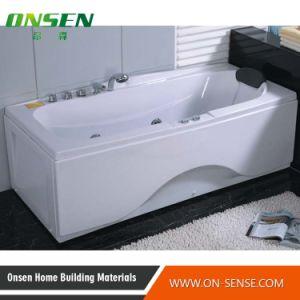 Bañera de hidromasaje masaje de acrílico bañera bañera de diseño