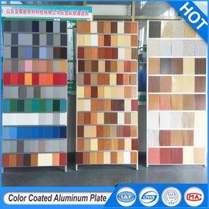 PVDF/Prix revêtu de PE/mur Extérieur panneaux en aluminium