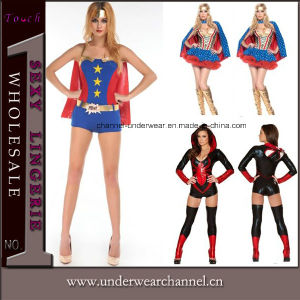 Role-Playing Cosplay Carnival Halloween sexy traje de Adultos Super Hero (TENN89115)