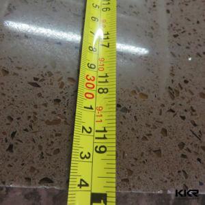 La Chine 20mm Sparkle Brown dalle de pierre d'ingénierie de quartz
