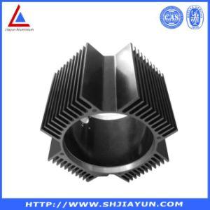 Dissipateur de chaleur du creux en aluminium anodisé