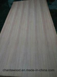 家具のための自然なSapeleのベニヤの空想の合板18mm
