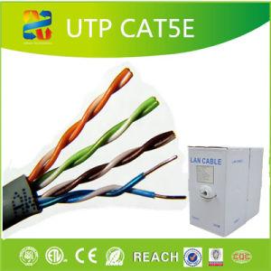 Crimpe o cabo UTP Cat5e de fábrica com um cabo de rede/RoHS ETL