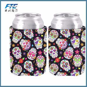 de Fles van het Bier van het Neopreen van 5mm kan de Koelere Gedrongen Houder van het Bier