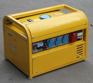 Generador de gasolina de 220V Generador arranque eléctrico