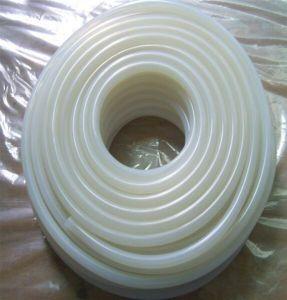 Nahrungsmittelgrad hoch transparent/freier Silikon-Gummi-Schlauch