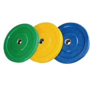 7개의 구멍 다채로운 고무 무게 격판덮개