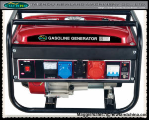 generatore della benzina di 2kw 3phase con la ritrazione o il sistema elettrico di inizio (2600DX (E) - A3)