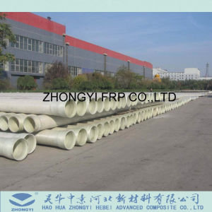 Transporte de agua de mar FRP GRP tubo compuesto