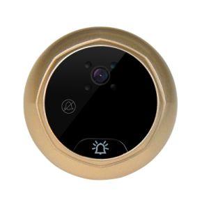 Câmara Porta Visualizador Peephole inteligente com anti-roubo