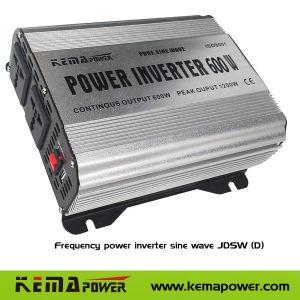 Jdsw600W с питанием от автомобильного Чистая синусоида DC Инвертер солнечной энергии