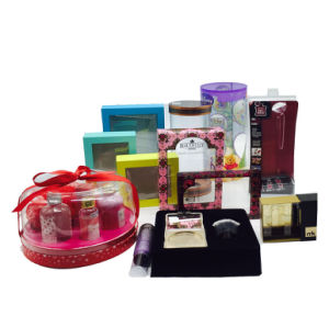 Cosméticos de plástico personalizadas embalaje blister de maquillaje, cremas producto (A02)