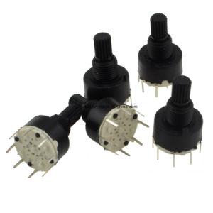 Commutatori rotanti posizione del PWB Sp6t 6 di controllo di potere mini