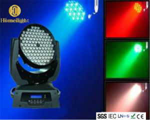 段階の結婚披露宴のディスコのための高い明るさ108PCS 3W LED移動ライト