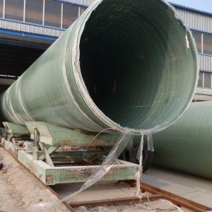 エポキシの高圧石油の原油ライン塩水の供給GRPの管ライン