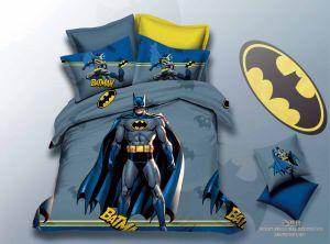 Heiße verkaufendruck-Karikatur-SchlafzimmerBedsheetduvet-Deckel-Bettwäsche der hallo-Miezekatze-3D