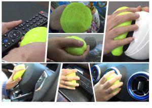 Gel appiccicoso eccellente di pulizia della polvere per la polvere d'angolo dell'automobile e del calcolatore