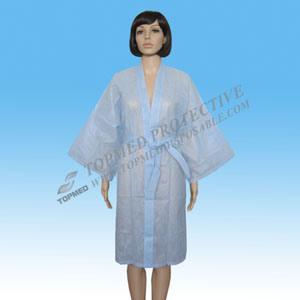 Kimono a gettare non tessuto del piccolo coro polifonico della STAZIONE TERMALE del salone di bellezza
