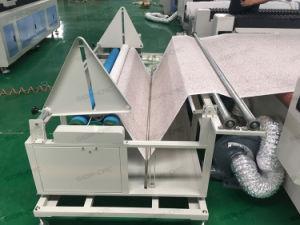 Alimentação automática de CO2 tecido Rolo Laser/têxteis//máquina de corte de tecido de algodão 1630