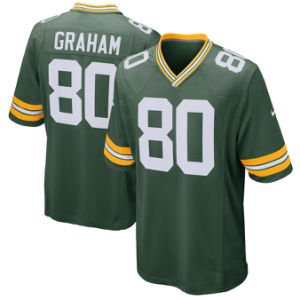 Hombres Mujeres Jóvenes Empacadores Jerseys 80 Jimmy Graham Camisetas de fútbol