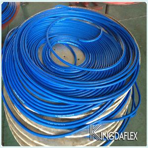 1/4 Zoll-glatte Deckel-blaue Farben-Gummisauerstoff-Schlauch 20bar