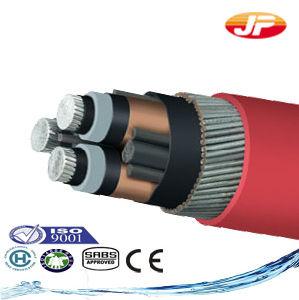 11 chilovolt di tensione media del collegare di cavo elettrico isolato XLPE elettrico