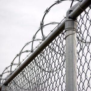 Filo galvanizzato Caldo-Tuffato per la barriera di sicurezza della prigione dell'aeroporto