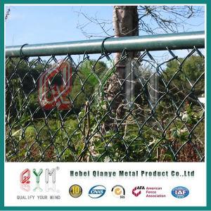 Cercado de cadenas temporales Highway Baloncesto valla de jardín de la compensación