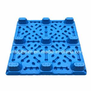 1300*1100*150mm Nove pés de moldagem por sopro de Face Única de paletes de plástico