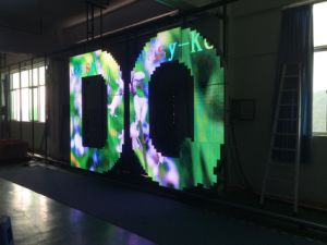 Pleine couleur personnalisés P8 extérieur petit logo avec affichage LED des modules de service avant