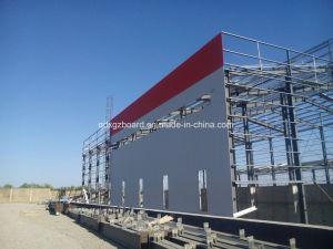 鉄骨構造のプレハブのアルジェリアの煉瓦工場Zy201891408