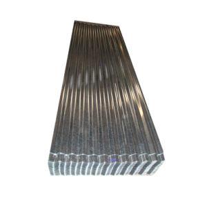 JIS G3312 Z100 Feuille de toiture en acier ondulé galvanisé