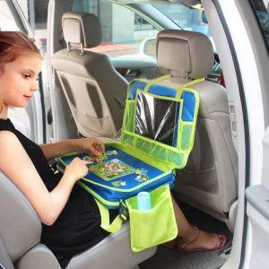 d342f9d84acc Asiento de coche cochecito de niños de la bandeja de viaje Bolso  organizador con el titular de la Tablet para niños