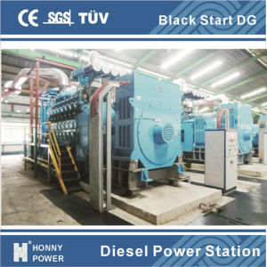 発電機セットの平行120MWディーゼル発電所