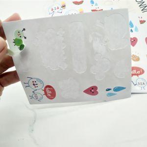 L'impression personnalisée Kiss Cut Haut de la quantité logo rond en vinyle PVC Feuille d'autocollants