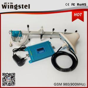 2018 Nuevo repetidor de la señal azul caliente a 900MHz con amplificador de señal para el hogar Amplificador de señal 2G.