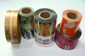 El Envasado de Alimentos Bolsa Bolsa de rollos de película de cine de laminado de plástico