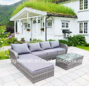 Sofá esquina rota mobiliario de jardín de ocio al aire libre