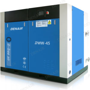 185 Kw Ingersoll-Rand descargas libres de aceite del compresor de aire de tornillo rotativo