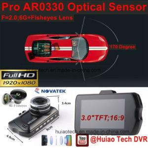 Heißes 3.0  volles HD1080p Auto DVR mit Kamera des Auto-5.0mega, G-Fühler, Bewegungs-Befund, Nachtsicht, WDR DVR-3001