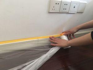 Utilização fácil a película de camuflagem com fita para pintores