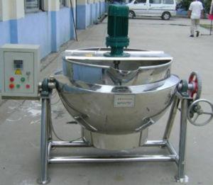 肉のためのやかんを調理する鍋を調理するやかんを調理する産業Jacketedやかん