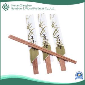 Papel de bambu Wraped 3/4 personalizado pauzinhos para alimentos entregues