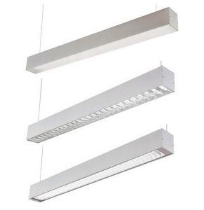 Empotrables LED lámpara de techo LED lineal de perfiles de aluminio