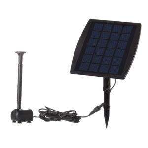 La energía solar Mini Fuente decorativa 9V 2.5W la bomba de agua
