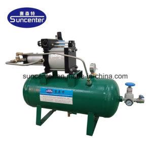 Modèle largement utilisé : Dgva05 ratio 5 : 1 20-40 Bar Ce approuvé machine à système de rappel de la pression de l'air